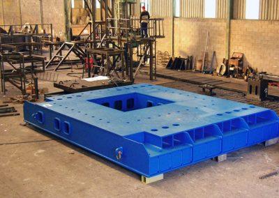 Basements for steel mill