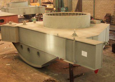 Plataforma de horno eléctrico