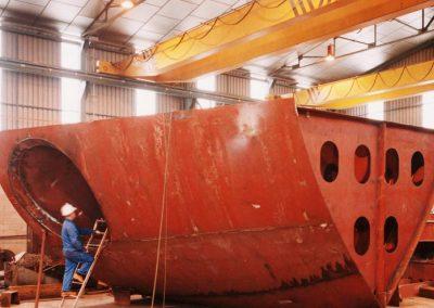 Bloques para sector naval
