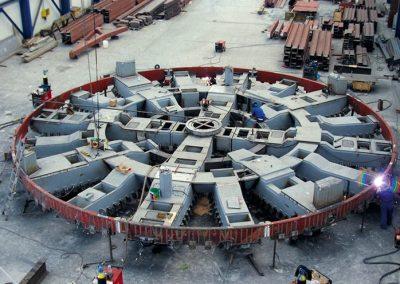 Cabeza de corte para tuneladora