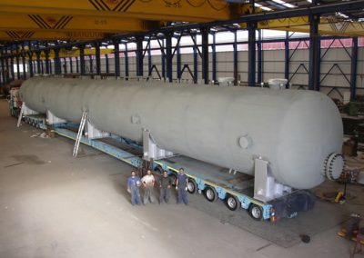 Feedwater tanks