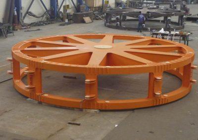 Bucket wheel