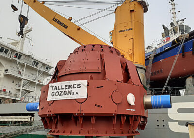 Converter vessel